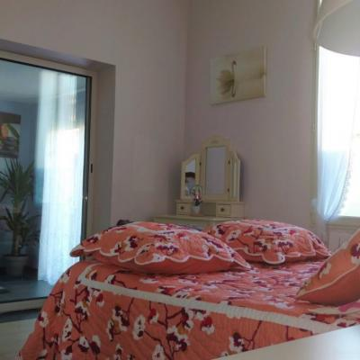 La chambre romantique en rose